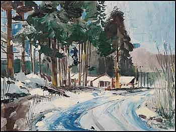 Jack Hambleton 1916 - 1988 Canadian oil on canvas