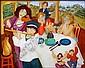 Francine Gravel 1944 - Canadian oil on canvas, Francine Gravel, Click for value