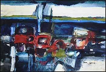 Sam Black 1913 - 1998 Canadian mixed media on