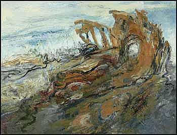Susanna Heller (1956 - ) Canadian oil on canvas