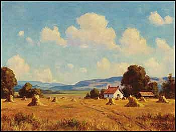 Roland Gissing 1895 - 1967 Canadian oil on canvas