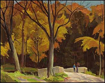 Joachim George Gauthier 1897 - 1988 Canadian oil