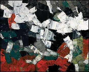 Rita Letendre 1929 - Canadian oil on canvas