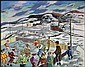 Henri Leopold Masson 1907 - 1996 Canadian oil on, Henri Leopold Masson, Click for value
