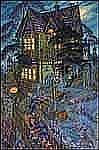 Paul Alexander Goranson 1911 - 2002 Canadian oil on canvas Haunted House