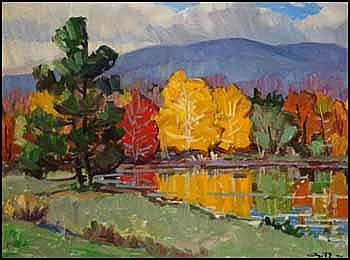 Leo Ayotte 1909 - 1976 Canadian oil on canvas