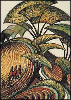 Sybil Andrews 1898 - 1992 Canadian linocut in 5