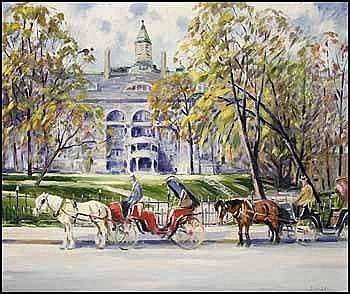 John Douglas Lawley 1906 - 1971 Canadian oil on