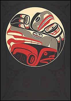 Robert Charles Davidson 1946 - Canadian lithograph