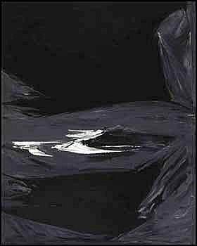 Rita Letendre 1928 - Canadian oil on canvas Impact