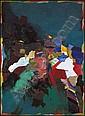 Jack Leonard Shadbolt 1909 - 1998 Canadian acrylic, Jack Shadbolt, Click for value