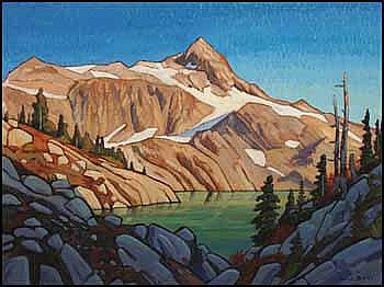 Nicolas J. Bott 1944 - Canadian acrylic on canvas