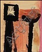 Oscar Cahén 1915 - 1956 Canadian watercolour, ink, Oscar Cahen, Click for value