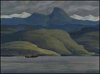 Ronald Threlkeld Jackson 1902 - 1992 Canadian oil