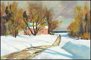 Douglas Ferguson Elliott 1916 - Canadian acrylic