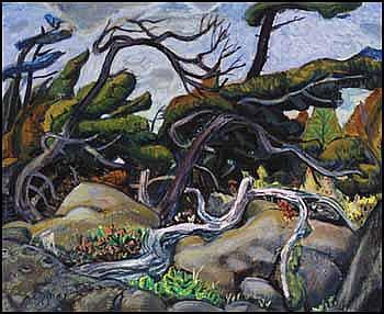 Arthur Lismer 1885 - 1969 Canadian oil on canvas