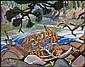 Arthur Lismer 1885 - 1969 Canadian oil on canvas, Arthur Lismer, Click for value