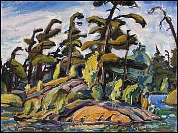 Arthur Lismer 1885 - 1969 Canadian oil on panel