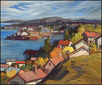 Henry George Glyde 1906 - 1998 Canadian oil on