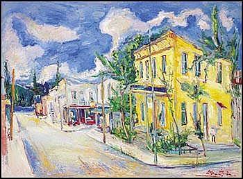 Samuel Borenstein 1908 - 1969 Canadian oil on