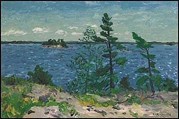 William Goodridge Roberts 1904 - 1974 Canadian oil