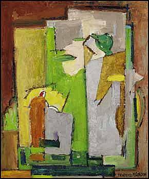 Hortense Mattice Gordon 1887 - 1961 Canadian oil