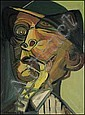 Jack Leonard Shadbolt 1909 - 1998 Canadian oil on, Jack Shadbolt, Click for value