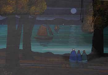 Oil on artist's board