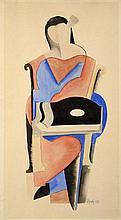 JINDŘICH ŠTYRSKÝ (1899-1942) SITTING LADY