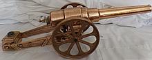 Brass Carbide Cannon