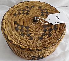 Native American Papago Basket