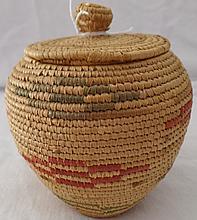 Alaskan Eskimo Basket