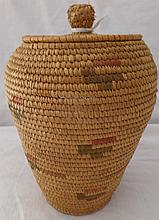 Eskimo Bear Grass Basket