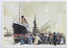 "Michael Turner (UK, B. 1934) ""Titanic"""
