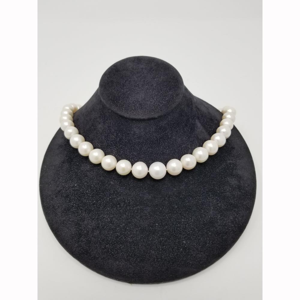 953bf3a03aecf3 18K South Sea Pearl Necklace 11-13mm
