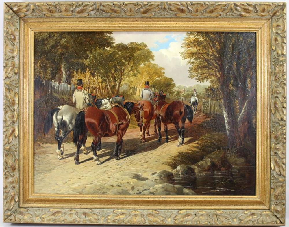 John Frederick Herring Jr (1815 - 1907)