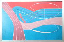 """Arthur Thrall (born 1926) """"Flourish II"""""""
