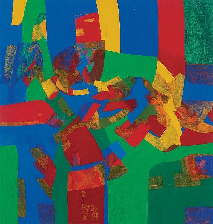 SHARIFAH FATIMAH SYED ZUBIR, DATO' (b. 1948) Image 4, 1995, Acrylic on canvas