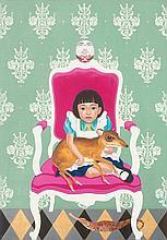 SHIA YIH YIING (b. 1966) An An In Waiting, 2008-2013, Mixed media on canvas