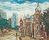 TEW NAI TONG (b. 1936 - d. 2013) K.L, 1976, Oil on canvas, Tew Nai Tong, MYR4,400