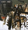 AWANG DAMIT AHMAD (b. 1956) Marista Sisa Semusim II, 1996, Mixed media on canvas, Awang Damit, MYR22,000