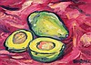 JOHN VAN DER STERREN (b. 1938) Still Life (Avocado), 2002, Oil on canvas, John Van der Sterren, MYR2,400