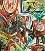 RAFIEE GHANI (b. 1962) Dusun Raja, 2000, Mixed media on canvas, Rafiee Ghani, MYR7,500