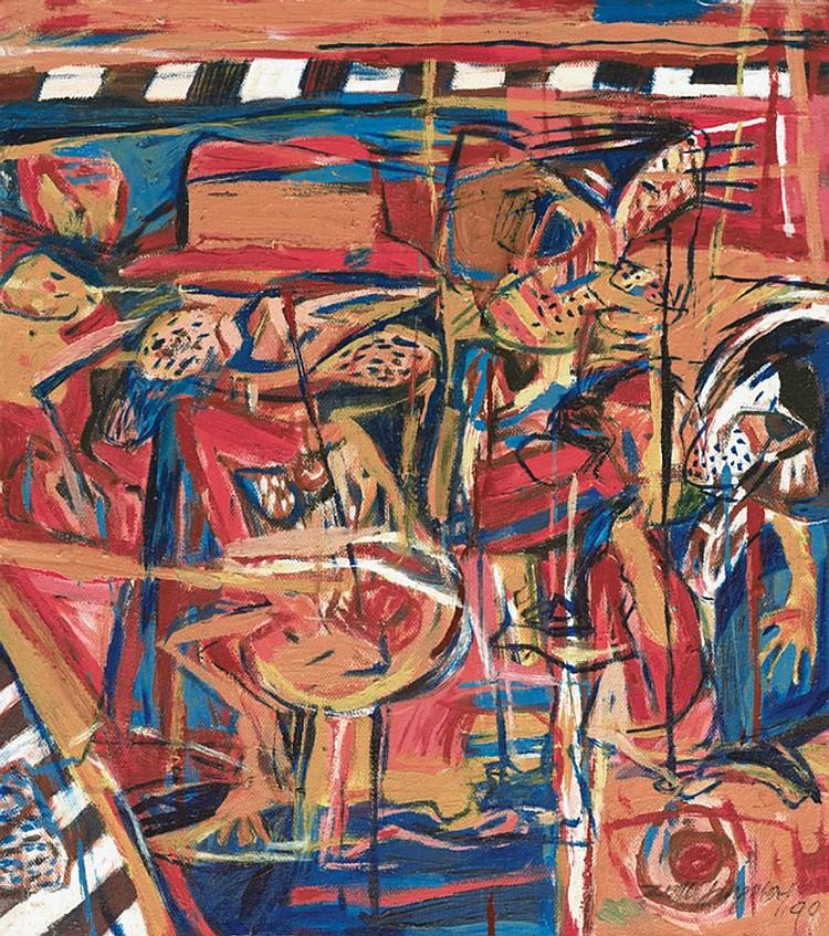 ZULKIFLI YUSOFF (b. 1962) UNTITLED, 1999, Oil on canvas