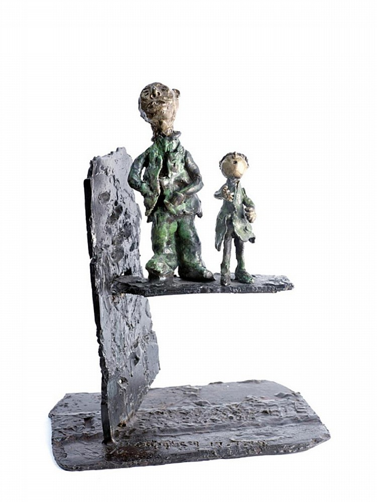 CH'NG HUCK THENG (b. 1972) RELATIONSHIP, 2014, Bronze (edition 4 of 17)