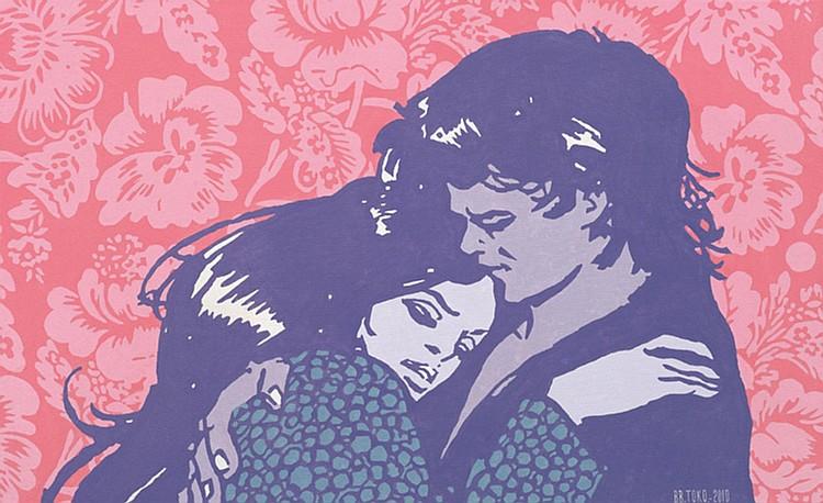 BAMBANG 'TOKO' WITJAKSONO (b. 1973) FOREVER AND ONE, 2010, Acrylic on canvas