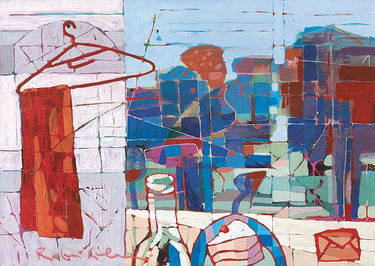 RAFIEE GHANI (b. 1962) UNTITLED (A STILL LIFE STUDY), 2004, Mixed media on canvas