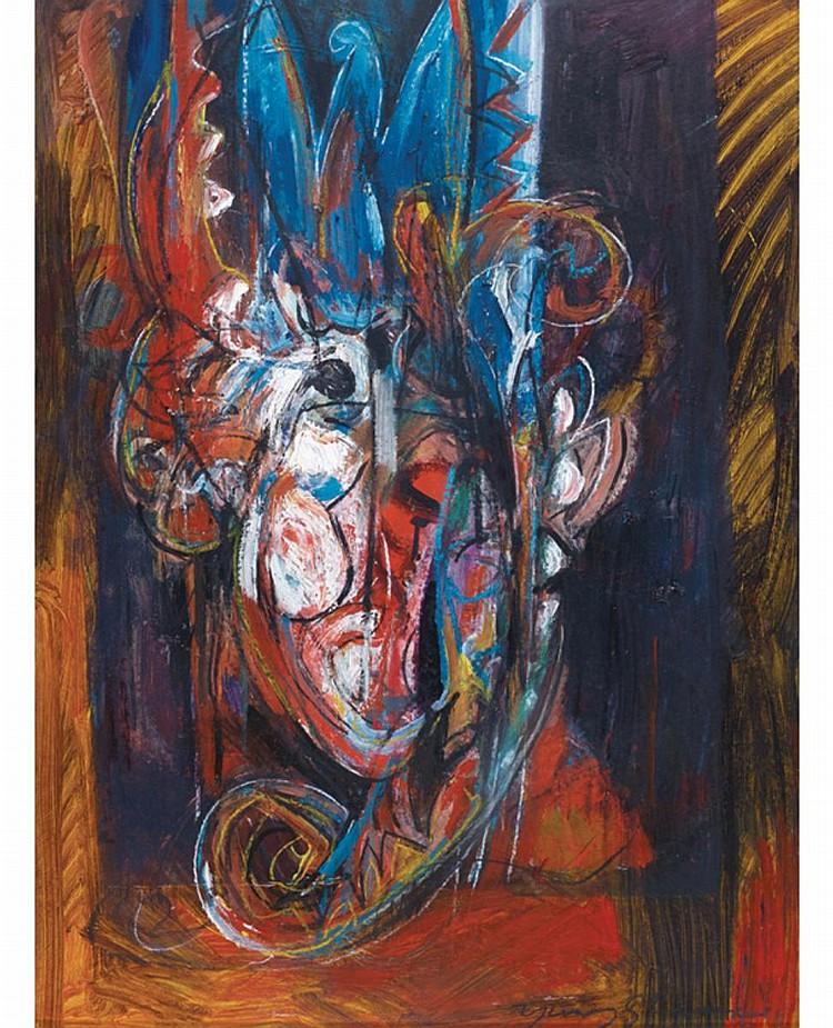 YUSOF GHANI (b. 1950) UNTITLED, undated, Mixed media on paper