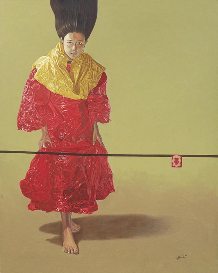 JERRY MORADA (b. 1979) UNTITLED, 2007, Acrylic on canvas