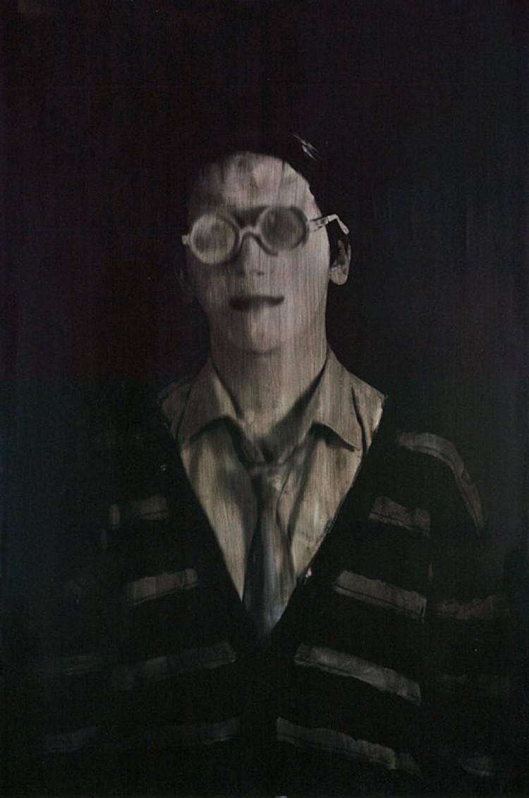 ERIK PAUHRIZI (b. 1981) KODOK, 2009, Digital print and oil on canvas